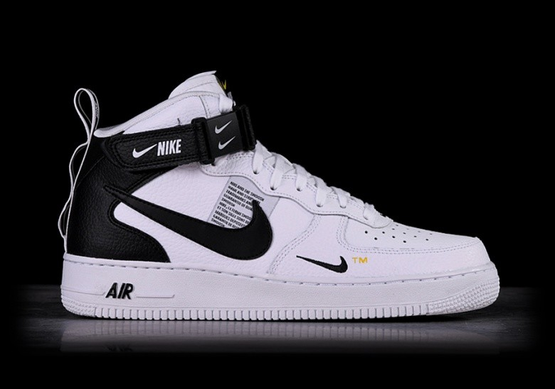 495856bbe NIKE AIR FORCE 1 MID '07 LV8 UTILITY WHITE per €117,50 | Basketzone.net