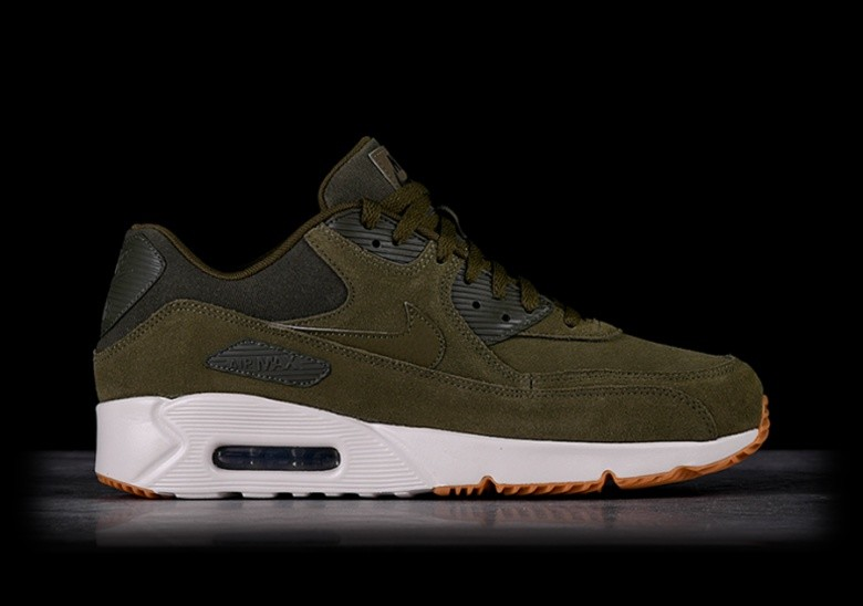 NIKE AIR MAX 90 ULTRA 2.0 LTR OLIVE CANVAS voor €127,50