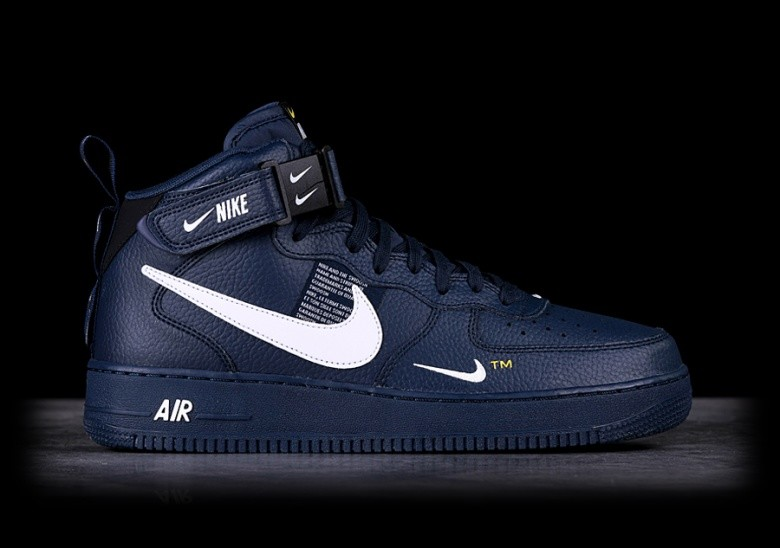 best loved 8a819 d09ef NIKE AIR FORCE 1 MID  07 LV8 OBSIDIAN