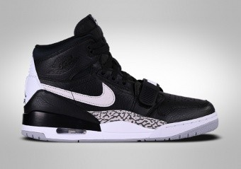 meet 8cc7d 03e85 BASKETBALL SHOES. NIKE AIR JORDAN LEGACY 312 BLACK CEMENT