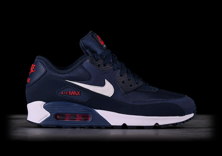 NIKE AIR MAX 90 ESSENTIAL MIDNIGHT NAVY per €122 bce84326071