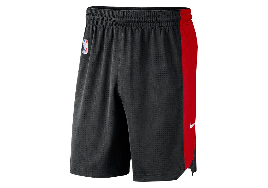 Menos estudio futuro  NIKE NBA CHICAGO BULLS PRACTICE SHORTS BLACK price €42.50 | Basketzone.net