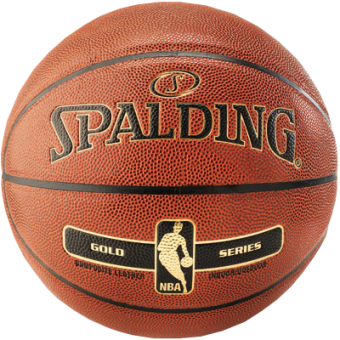 SPALDING NBA TACT SOFT GOLD IN/OUT (SIZE 7)