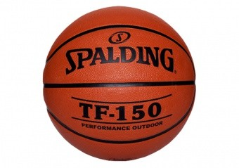 SPALDING TF-150 OUTDOOR FIBA LOGO (SIZE 7) ORANGE