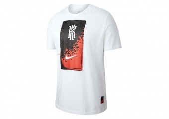 NIKE KYRIE MIND DRI-FIT TEE WHITE
