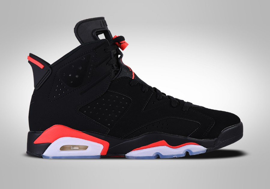 best website a70eb 2664d NIKE AIR JORDAN 6 RETRO BLACK INFRARED (GS)