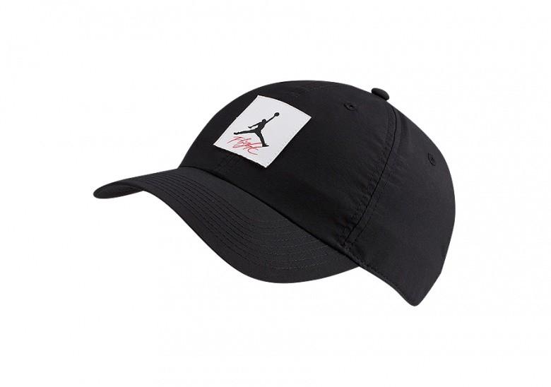 NIKE AIR JORDAN HERITAGE86 LEGACY FLIGHT HAT BLACK
