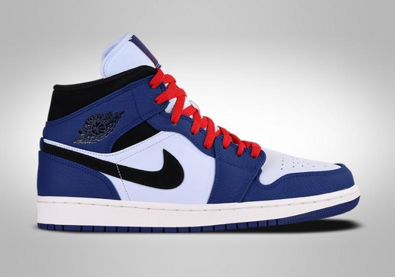 Nike Air Jordan 1 Retro Mid Se Deep Royal Blue Price 122 50