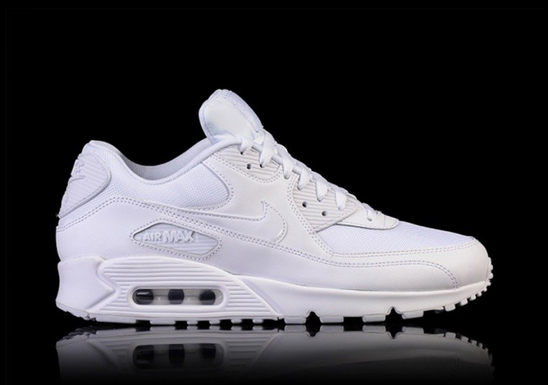 low priced b2d54 c8f40 NIKE AIR MAX 90 ESSENTIAL TRIPLE WHITE
