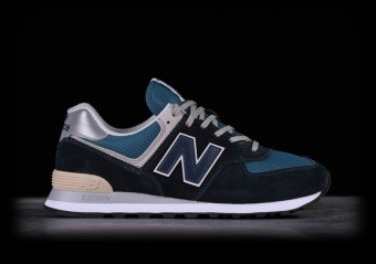 NEW BALANCE 574 DARK NAVY WITH MARRED BLUE