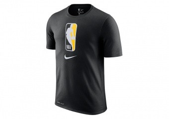 NIKE NBA TEAM 31 DRY TEE BLACK AMARILLO