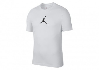 NIKE AIR JORDAN JUMPMAN CREW TEE WHITE