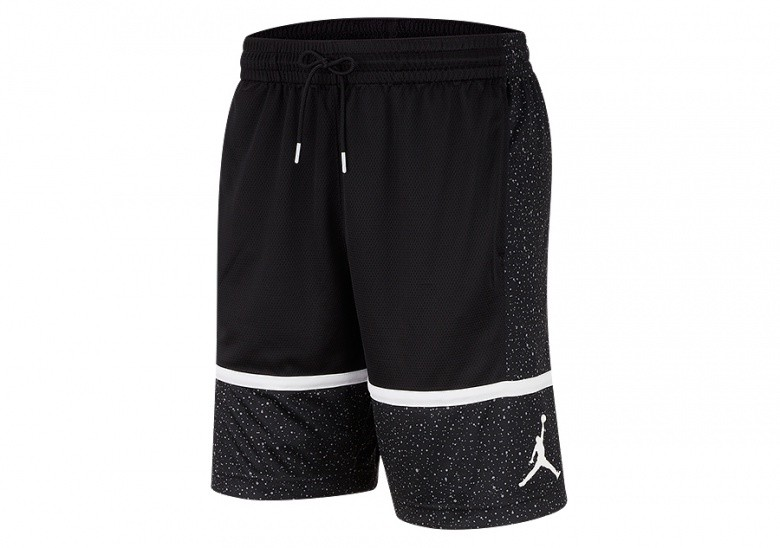 NIKE AIR JORDAN JUMPMAN GRAPHIC SHORTS BLACK