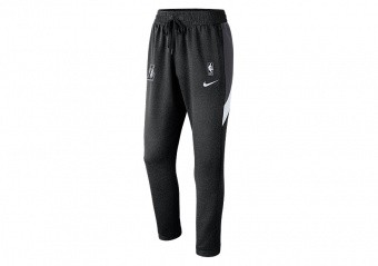 NIKE NBA LOS ANGELES LAKERS THERMAFLEX SHOWTIME PANTS BLACK HEATHER