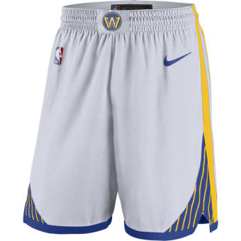 NIKE NBA GOLDEN STATE WARRIORS SWINGMAN HOME SHORTS