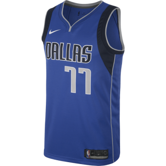NIKE NBA DALLAS MAVERICKS LUKA DONČIĆ SWINGMAN ROAD JERSEY