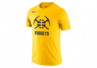 NIKE NBA NUGGETS CITY EDITION DRI-FIT TEE AMARILLO
