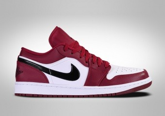 NIKE AIR JORDAN 1 RETRO LOW NOBLE RED