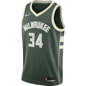 NIKE NBA MILWAUKEE BUCKS GIANNIS ANTETOKOUNMPO SWINGMAN JERSEY ROAD