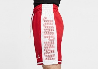 NIKE AIR JORDAN JUMPMAN HBR BASKETBALL SHORTS GYM RED