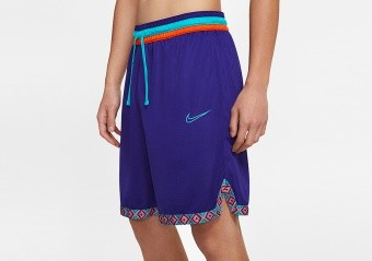 NIKE DRI-FIT DNA BASKETBALL SHORTS REGENCY PURPLE