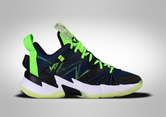 NIKE AIR JORDAN WHY NOT ZER0.3 SE GS NAVY BLACK VOLT R. WESTBROOK