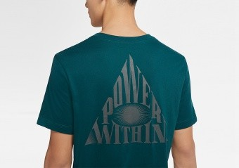 NIKE KYRIE IRVING LOGO DRI-FIT TEE DARK ATOMIC TEAL