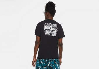 NIKE EXPLORATION SERIES BROOKLYN BASKETBALL TEE BLACK