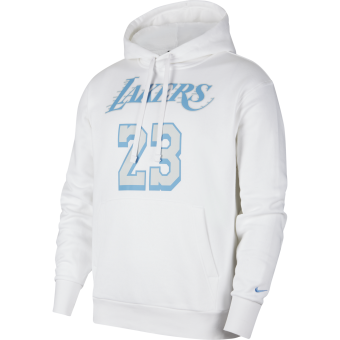 NIKE NBA LOS ANGELES LAKERS CITY EDITION PULLOVER HOODIE