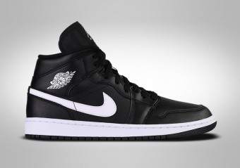 NIKE AIR JORDAN 1 RETRO MID WMNS BLACK WHITE