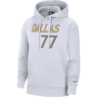 NIKE NBA DALLAS MAVERICKS LUKA DONČIĆ CITY EDITION PULLOVER HOODIE
