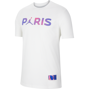 JORDAN PSG PARIS SAINT-GERMAIN WORDMARK TEE
