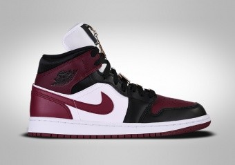 NIKE AIR JORDAN 1 RETRO MID SE WMNS BLACK DARK BEETROOT