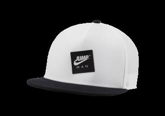 NIKE AIR JORDAN PRO JUMPMAN CLASSICS CAP WHITE