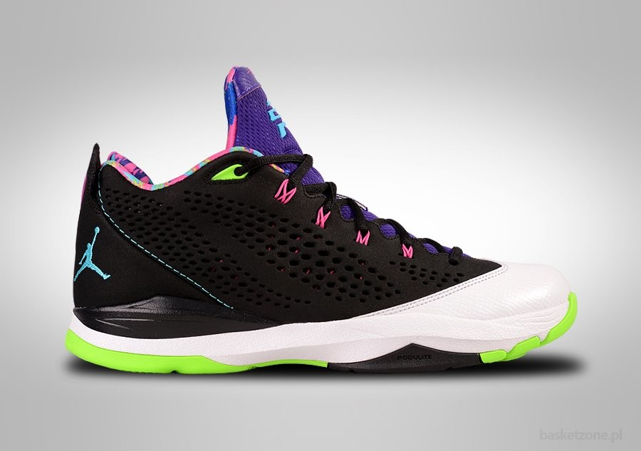 NIKE AIR JORDAN CP3.VII BEL-AIR GAMMA BLUE FLASH LIME
