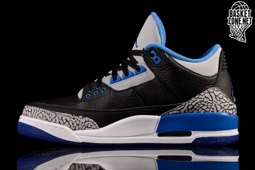 3f0bebb0048f NIKE AIR JORDAN 3 RETRO BLACK SPORT BLUE price 2962.50R