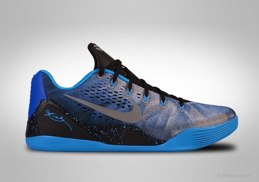 NIKE KOBE 9 EM LOW PREMIUM BLUE HERO