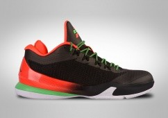 buy online 0d766 76ba6 BASKETBALL SHOES. NIKE AIR JORDAN CP3.VIII BLACK GREEN INFRARED